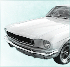 1960s Ford Mustang Wedding Car